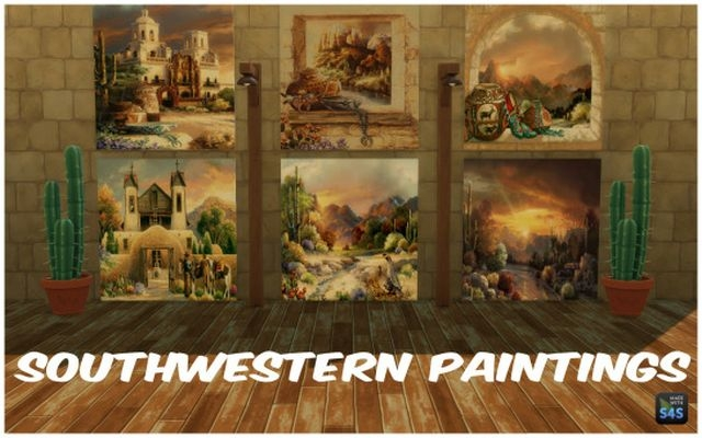 Southwestern Paintings by silverwolf6677