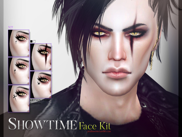 Showtime Face Kit N27 by Pralinesims