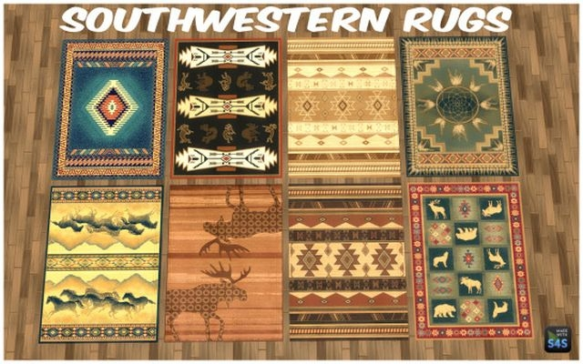 Southwestern Rugs by silverwolf6677