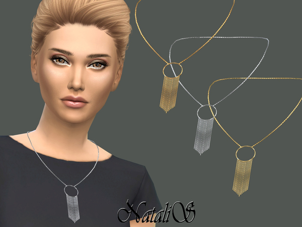 NataliS_Hanging chain necklace