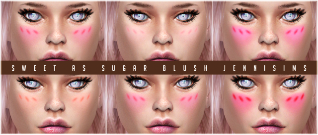 Sweet As Sugar Blush by JenniSims