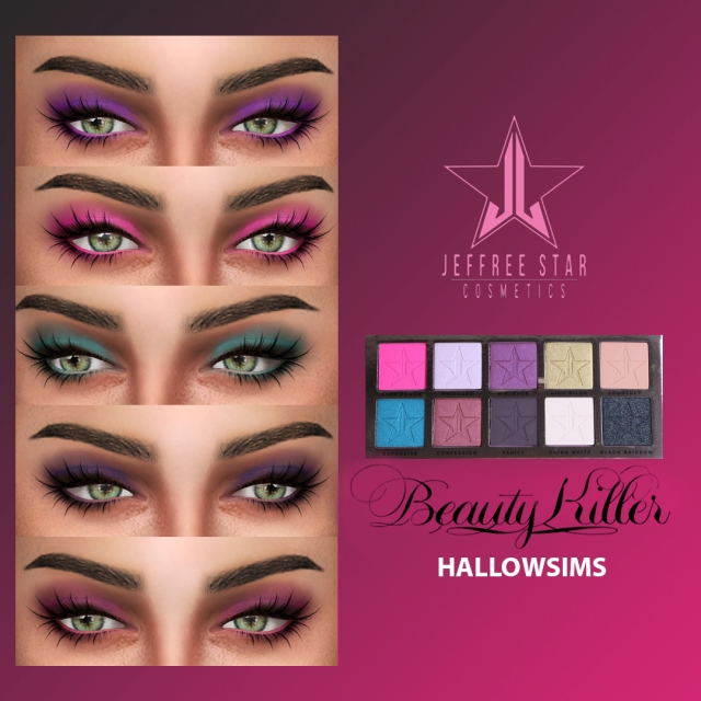 Jeffree Star Beauty Killer Palette by Hallow Sims