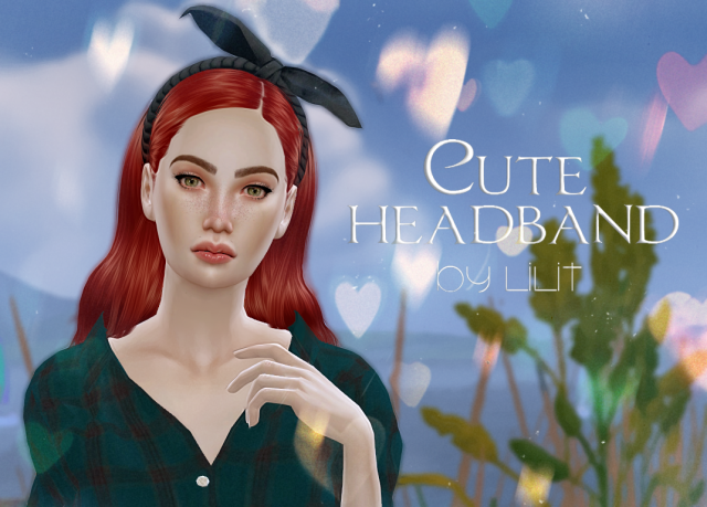 "Ободок ""Cute headband"" by Lilit"