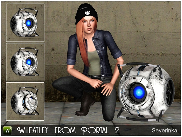 Wheatley from Portal 2 от Severinka