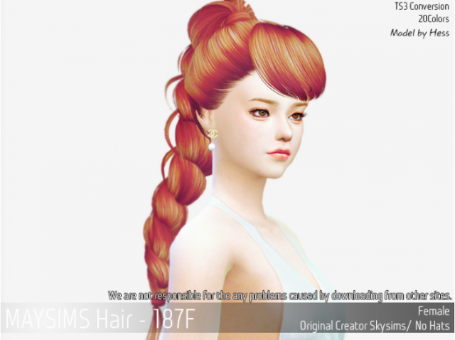 Hair187M by MaySims