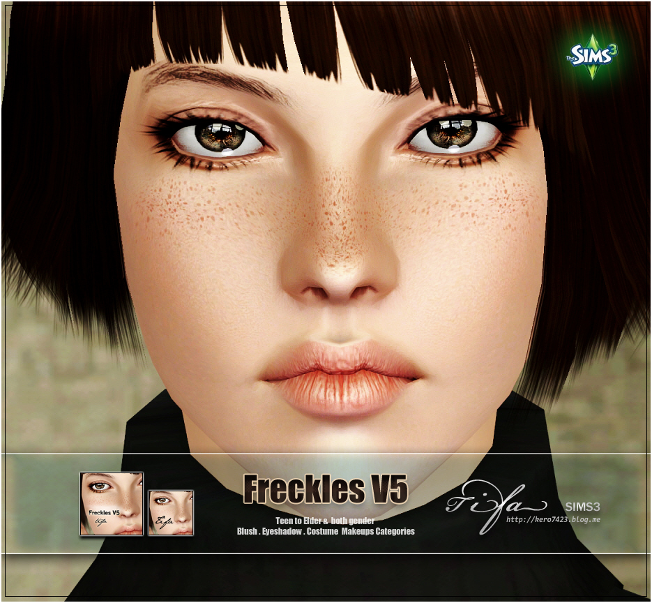 Freckles V5 by Tifa