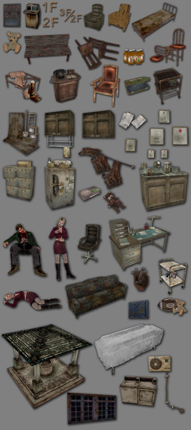 Silent Hill: Hospital Set by Mimoto