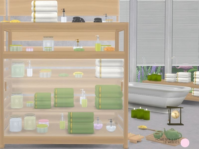 Home Spa 2 Set by DOT
