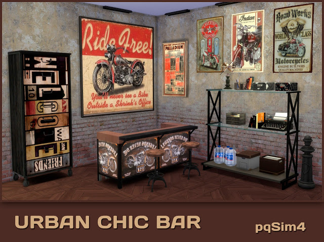Urban Chic Bar by pqSim4