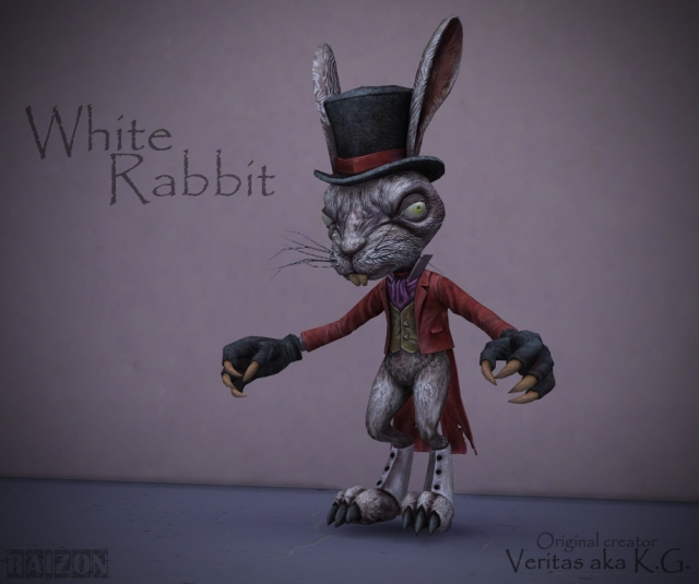AMR White rabbit by Raizon