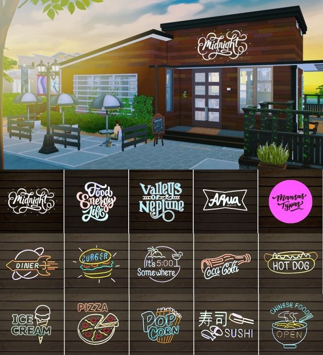 Restaurant Logos by DominationKid