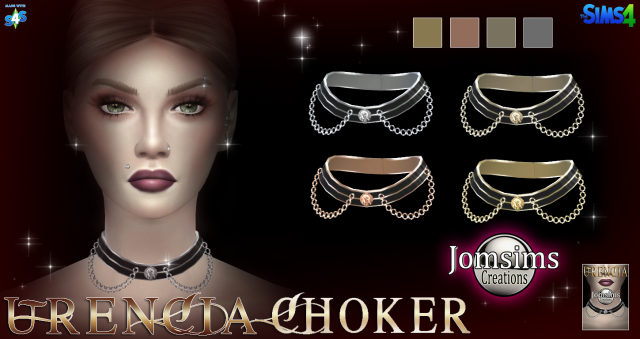 Urencia choker by JomSims