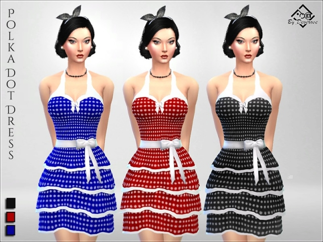 PolkaDot Dress by Devirose