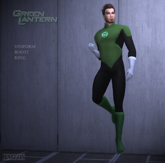 Green lantern outfit by Raizon