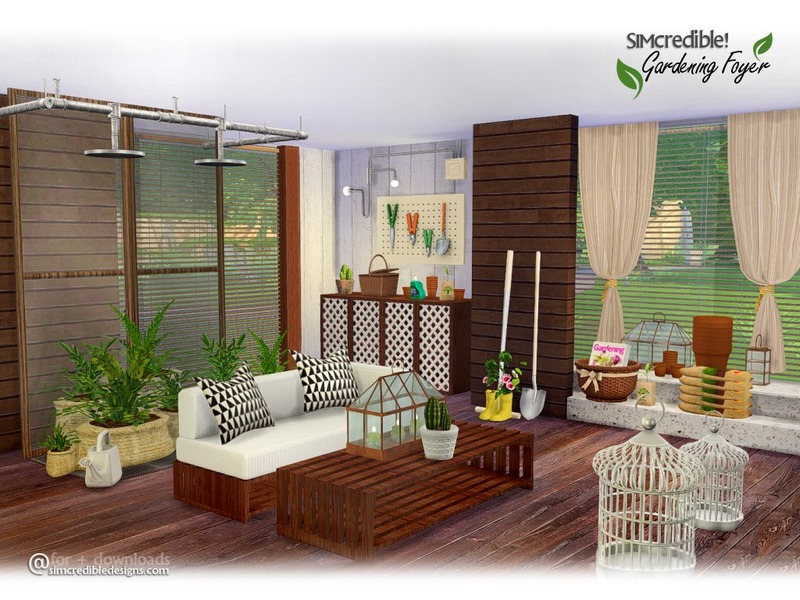Gardening Foyer by SIMcredible!