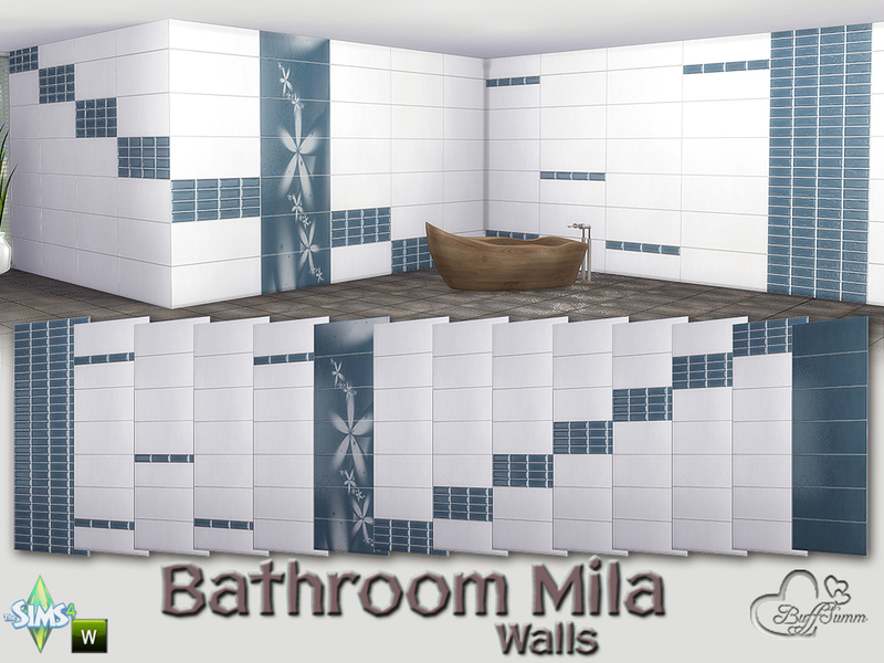 Mila Bathroom Tiles by BuffSumm