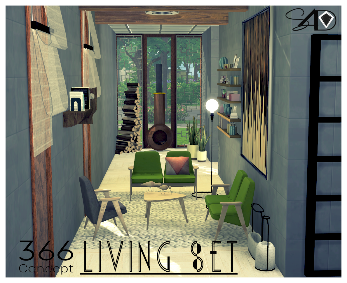 366 Concept Living Set Part I (New Mesh) by Daer0n