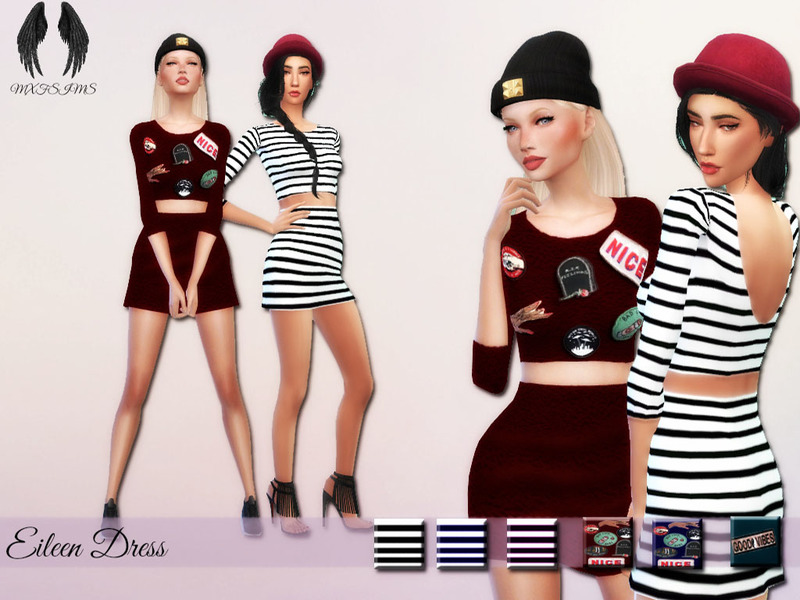 Eileen Dress by mxfsims