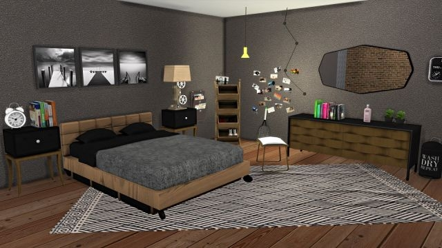 Urban Bedroom Set by Leo-Sims