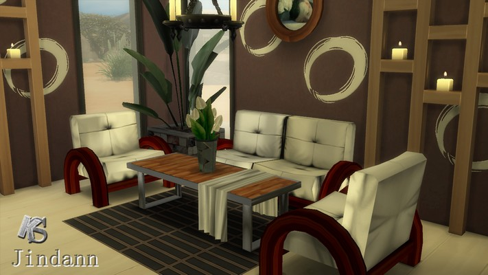Lockhart Living Set by Jindann