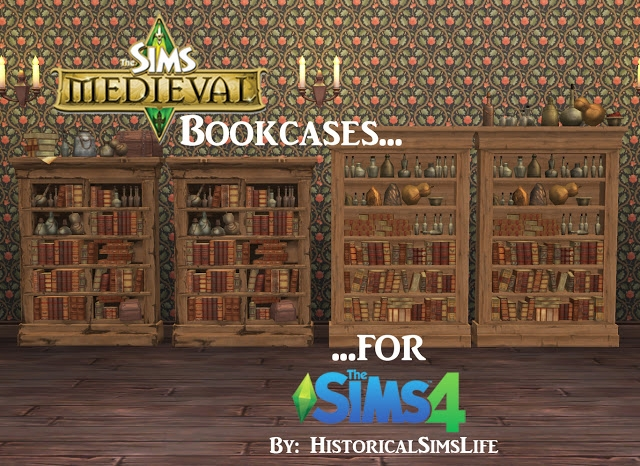 TSM Bookcases Conversion by HistoricalSimsLife