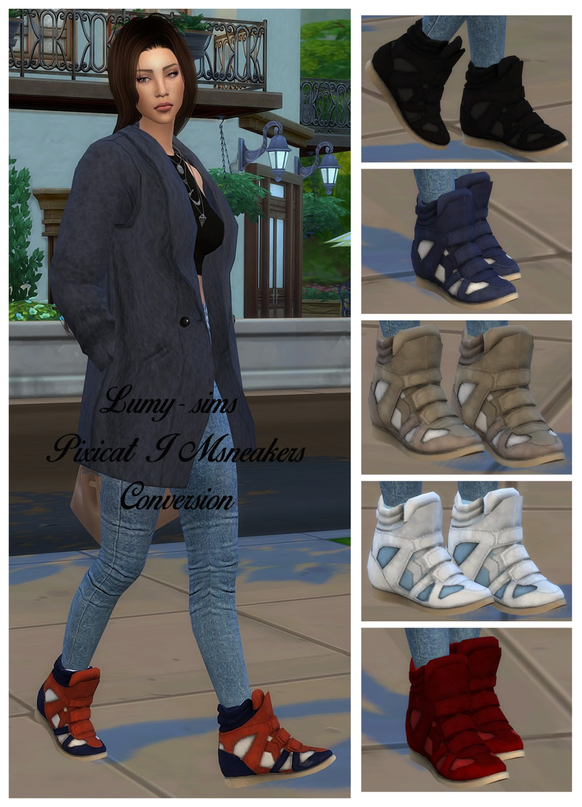 TS3 Sneaker Conversion by Lumy-sims