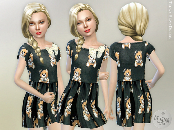 Teddy Bear Dress by lillka