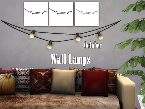 Wall Lamps by EnuresSims