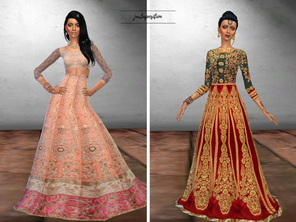 Sagai Dress & Regal Bride Dress- updated by Juxtaposition