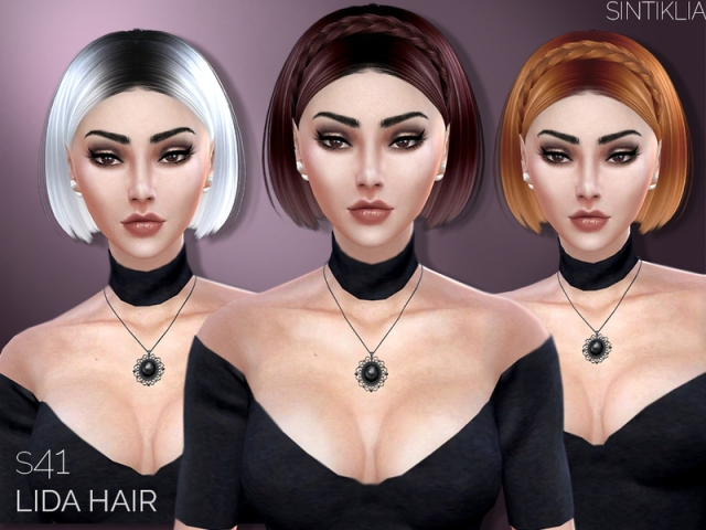 Hair s41 Lida+braid by Sintiklia