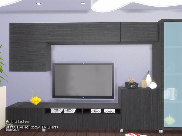 Ikea Inspired Besta Living Room TV Units by ArtVitalex