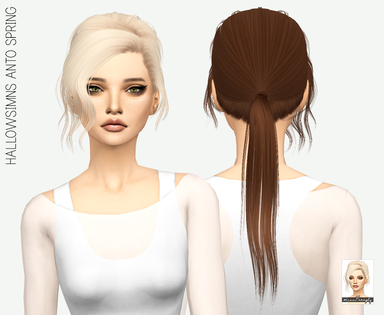 HALLOWSIMS ANTO SPRING  in 64 Colors by MissParaply