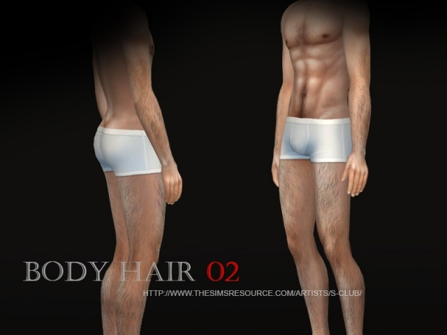 WM thesims4 Body hair 02 by S-Club