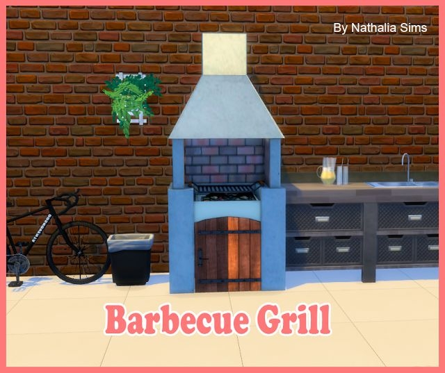 TS2 Barbecue Grill Conversion by Nathalia Sims