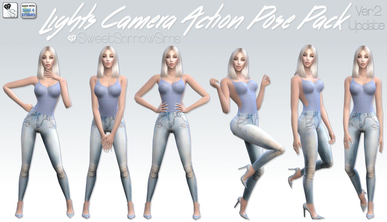 Poses by SweetSorrowSims