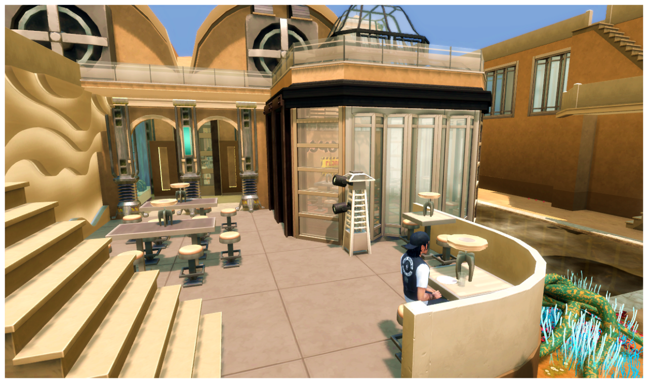 Tosche Station Restaurant by SimDoughnut