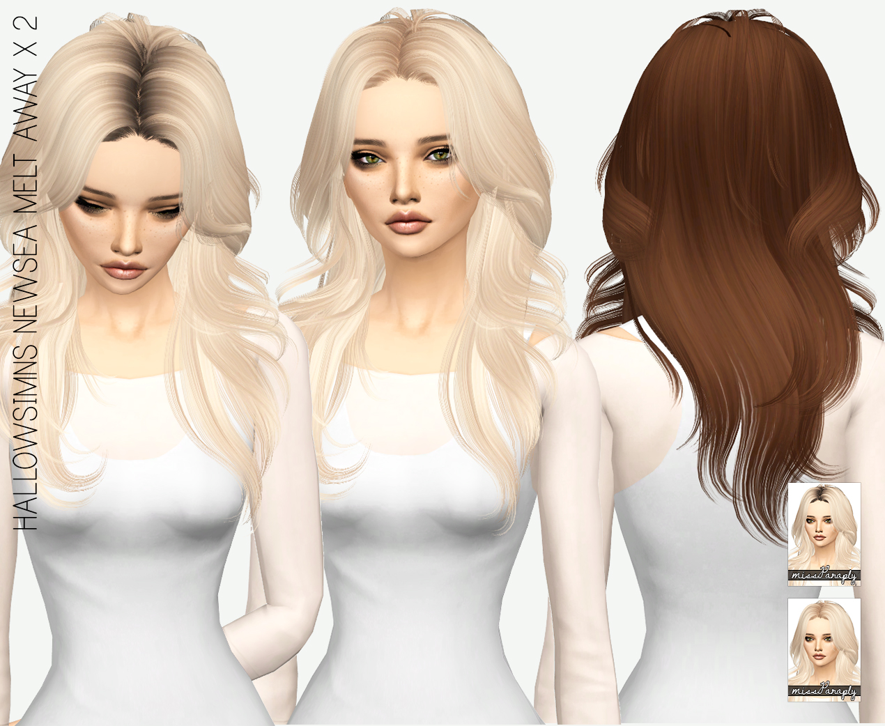 HALLOWSIMS NEWSEA MELT AWAY  in 64 Colors by MissParaply