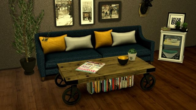 TS2 Living Room Conversions by Leo-Sims