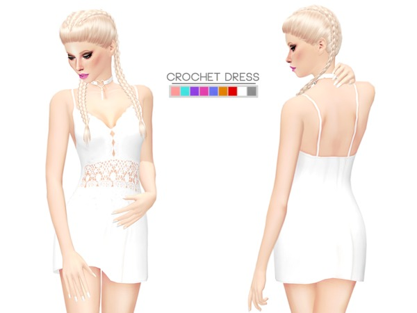 Crochet Dress by itsleeloo