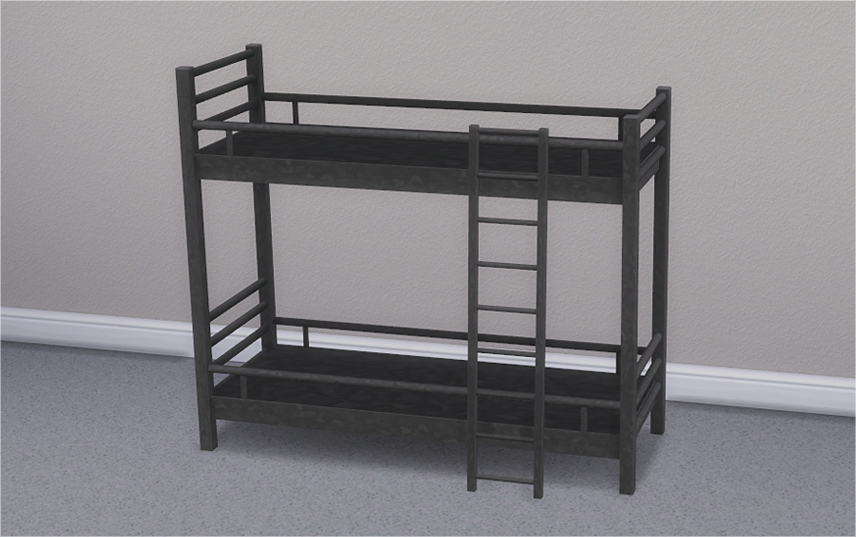 Hipster Loft Bunk Bed & Mattresses for Bunk Beds by Veranka
