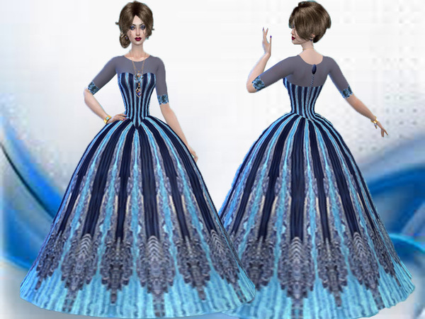 Royal Ball gown-Need mesh by TrudieOpp