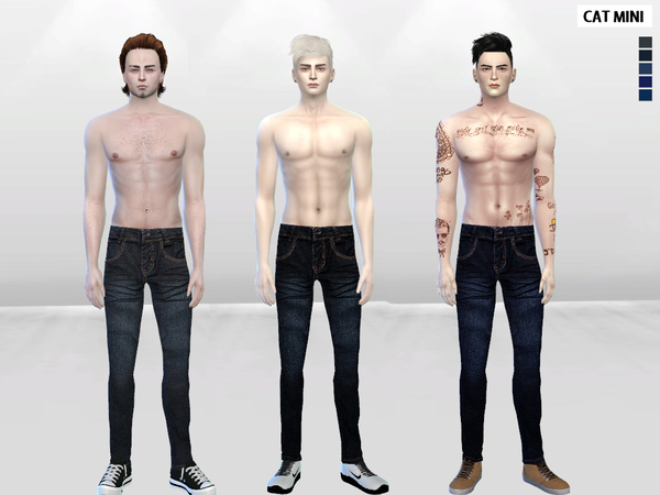 Tiger Lane Denim Jeans by McLayneSims