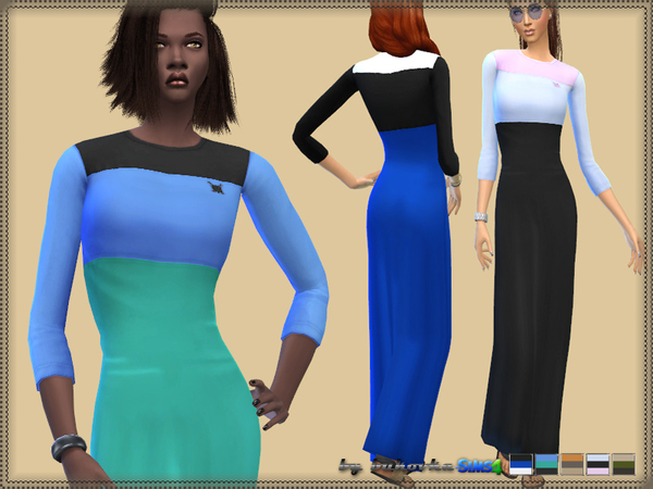Dress Three_Color by bukovka