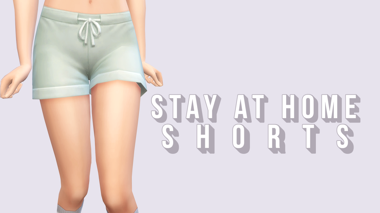 Stay at Home Shorts for Females by NessiesCC