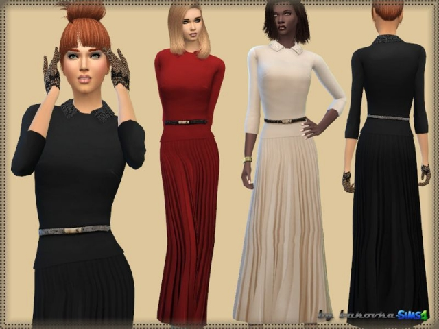 Dress & Pleated Skirt by bukovka