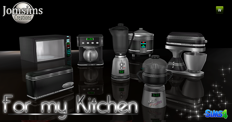 Kitchen Appliances by JomSims