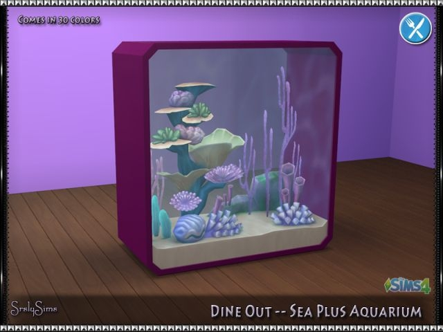 Sea Plus Aquarium by SrslySims
