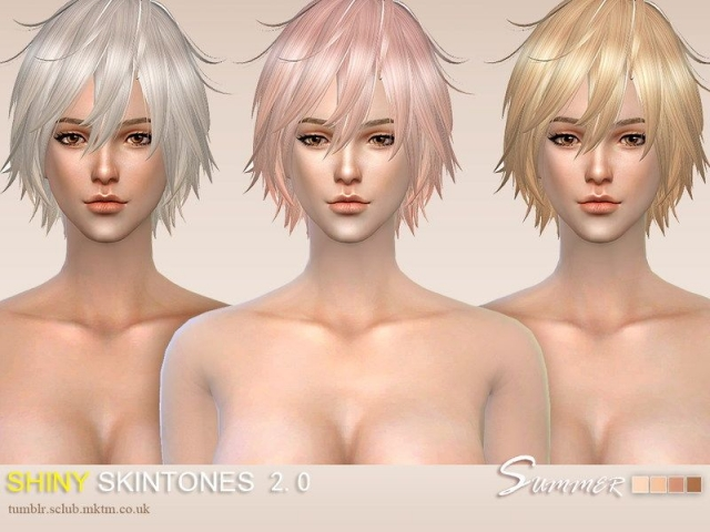 ts4 WMLL SHINY Skintones(F)2.0 by S-Club