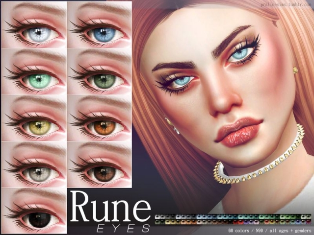 Rune Eyes N90 by Pralinesims