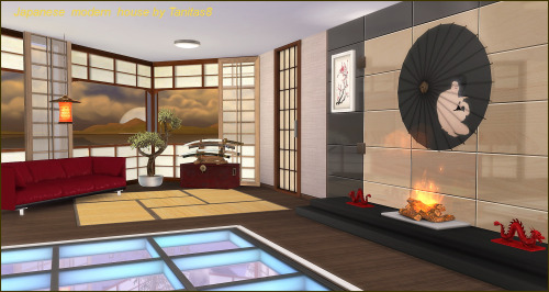 Modern Japanese House by Tanitas8